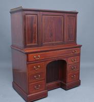 Superb Quality 19th Century Mahogany Secretaire Desk Cabinet (2 of 12)