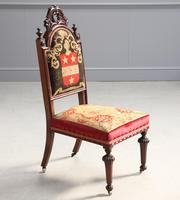 19th Century Rosewood Side Chair (7 of 8)