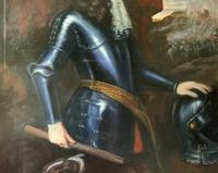 Huge Oil Portrait Painting 'King William III' After Sir Peter Lely (11 of 13)