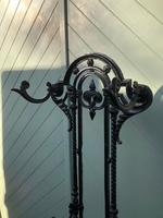 Victorian Cast Iron Hall Stand (2 of 9)
