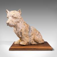 Antique Decorative West Highland Terrier, British, Westie Dog, Edwardian c.1910 (2 of 12)