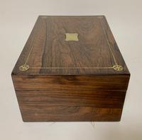 Victorian Rosewood Inlaid Vanity Box (12 of 14)