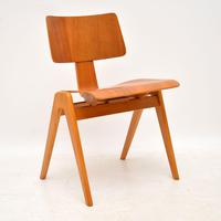 1950's Set of 6 Robin  Day Hillestak Dining Chairs for Hille (3 of 9)