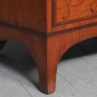Inlaid Satinwood Chest of Drawers by S & H Jewells (11 of 14)