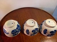 First Period Worcester Tea Bowls (6 of 7)