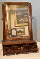 18th Century Mahogany Box Dressing Table Mirror (2 of 4)