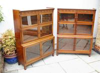 Pair of art deco minty sectional bookcases (14 of 14)