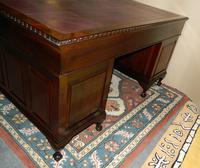 Mahogany Pedestal Desk (6 of 7)