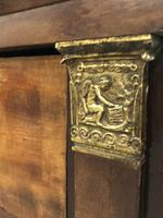 Lions paw French Empire marble top chest of drawers (2 of 10)