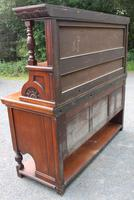 1920s Large Mahogany Aesetic Style Sideboard with Good Hardware (4 of 5)