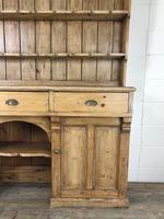 Large Victorian Antique Pine Dresser (4 of 17)