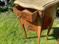 Pair of French Marquetry Bedside Tables (4 of 8)