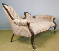 Victorian Carved Mahogany Frame Sofa (10 of 11)