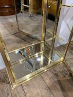 Pair of 1920s Brass Shop Display Cabinets (7 of 8)