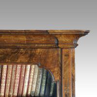 19th Century Walnut Bureau Bookcase (8 of 19)