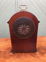 Edwardian Inlaid Mahogany Bracket Clock (7 of 11)