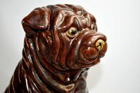 Large Early 20th Century Pottery Shih Tzu (7 of 7)