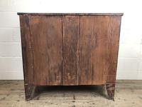 19th Century Mahogany Bow Front Chest of Drawers (18 of 18)