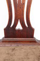 Antique Georgian Mahogany Desk Chair (11 of 12)