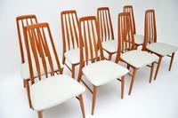 Set of 8 Danish Teak Vintage Dining Chairs by Nil Kofoed (2 of 11)