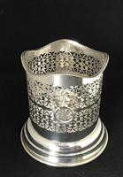 Vintage Silver Plated Two Handle Bottle Holder (4 of 6)