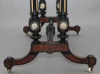 19th Century Amboyna & Ebonised Sofa Table (9 of 11)