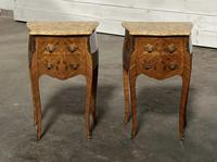 Quality Pair of French Marquetry Bedside Drawers (2 of 22)