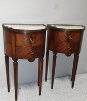 Superb Pair of French Mahogany Cabinets (5 of 9)