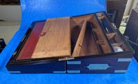 Victorian Full Brassbound Rosewood Writing Slope (16 of 19)