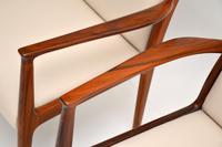 1960's Pair of Danish Vintage Rosewood Carver Armchairs (8 of 9)