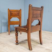 Pair of Arts & Crafts Hall Chairs (12 of 13)