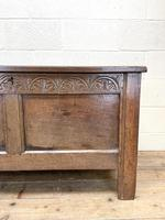 Antique 18th Century Welsh Oak Coffer (4 of 10)
