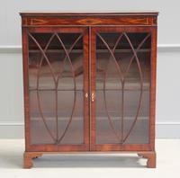 19th Century Mahogany Glazed Display Cabinet (2 of 7)