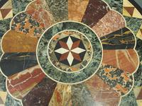 Italian Specimen Marble & Mahogany Table (7 of 12)