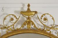 19th Century Gilt Adam Style Overmantle Mirror (4 of 13)