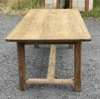 Large French Bleached Farmhouse Dining Table (18 of 26)