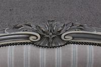 Beautiful Newly Upholstered King Size French Louis XVI Style Bed (7 of 11)