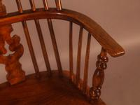 Windsor Rocking Chair in Ash & Elm (6 of 7)