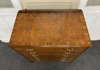 Queen Anne Burr Walnut Chest of 5 Drawers (5 of 12)