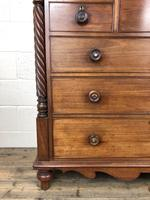 Large Victorian Mahogany Chest of Drawers (13 of 16)