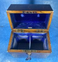 Victorian Brassbound Oak Decanter Box (16 of 20)