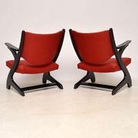 1960's Pair of Vintage Italian Armchairs (9 of 12)