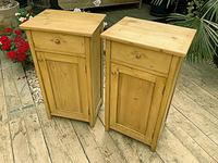 Two 'will split' Lovely & Matching Bedside Cabinets / Cupboards (2 of 8)