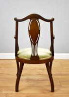 Victorian Mahogany & Inlaid Lounge Suite (15 of 23)