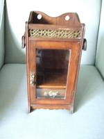 Early 20th Century Small Smoker's Cabinet (2 of 6)