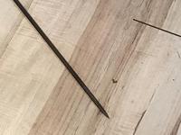 Gentleman's Walking Stick Sword Stick with Horned Handle (7 of 16)