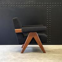 Upholstered Chandigarh Easy Armchair & Sofa by Pierre Jeanneret (8 of 8)