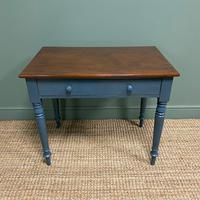 Georgian Painted Antique Side Table (4 of 6)