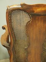 Pair of Queen Anne Style Walnut Armchairs (5 of 17)
