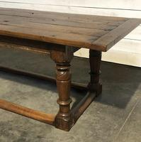 Very Early Oak Farmhouse Refectory Dining Table (27 of 31)